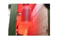 Επισμάλτωση θερμαντήρα νερού / μπόιλερ / boiler ηλιακού / δοχείου θέρμανσης σε βιομηχανία επισμάλτωσης