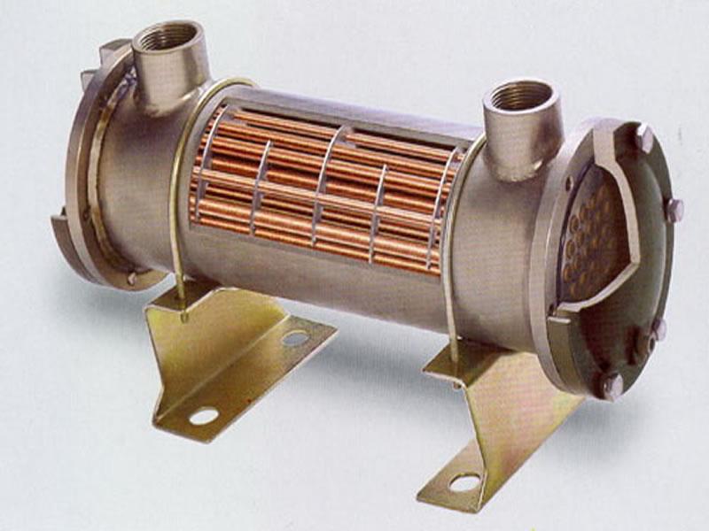 Σωληνωτός εναλλάκτης (shell and tube)