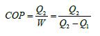 Εξίσωση βαθμού απόδοσης αντλίας θερμότητας