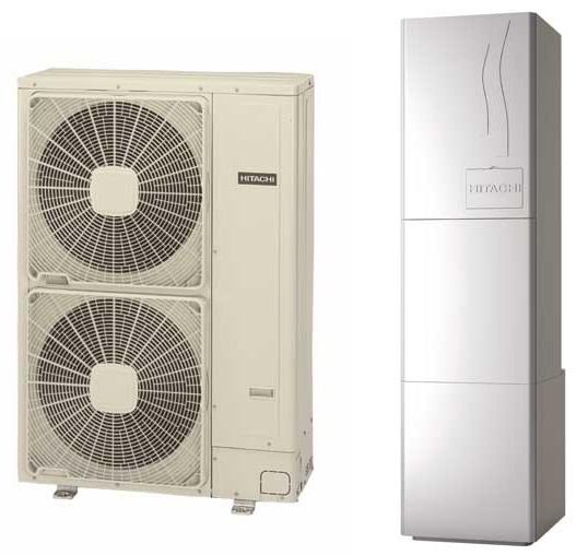 Αντλία θερμότητας υψηλών θερμοκρασιών Hitachi Yutaki S80