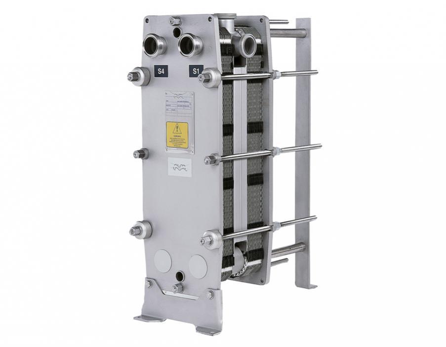 Πλακοειδής εναλλάκτης θερμότητας λυόμενος